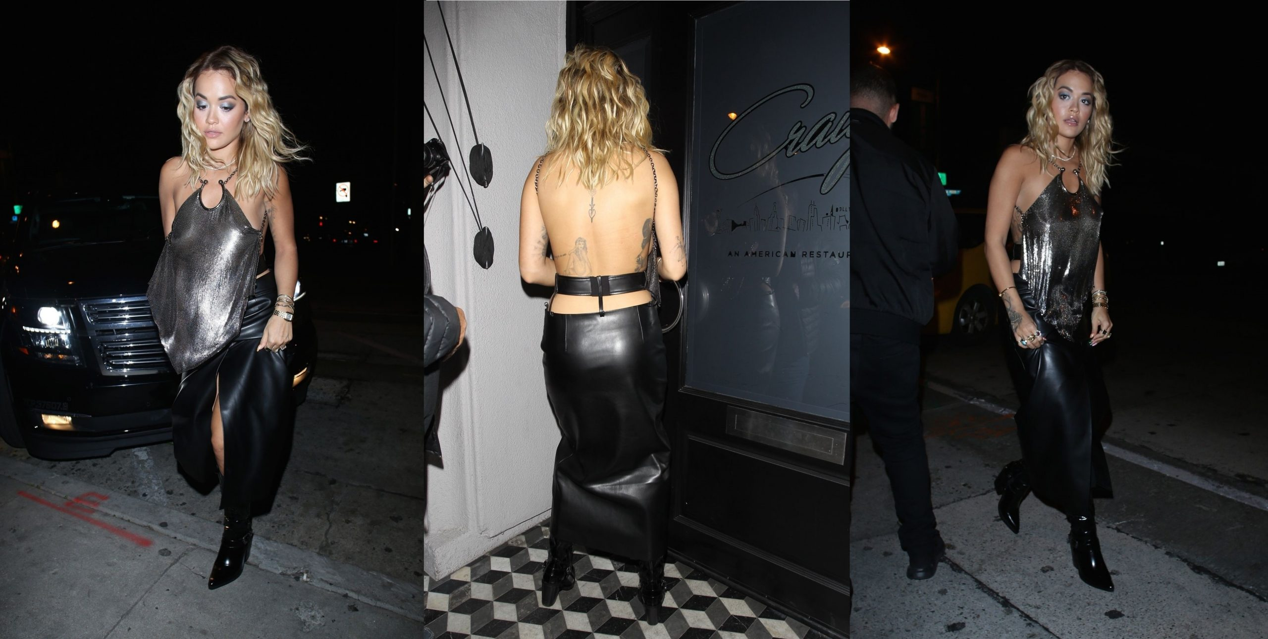 Rita Ora Almost Naked Nightout